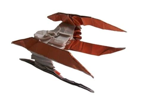 Origami Vulture - wars origami original vulture droid design by