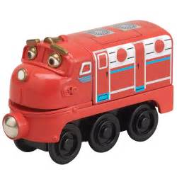 chuggington toy trains wooden railway cars