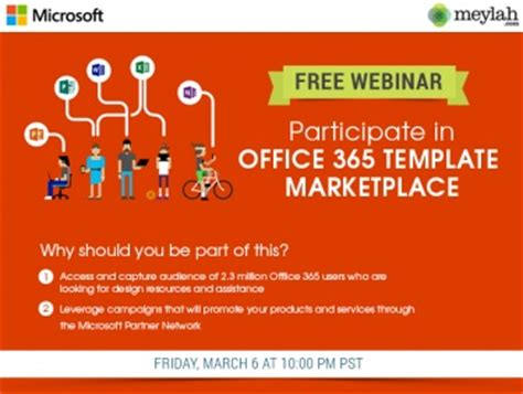 outlook 365 email template your free special event invite participate in office 365
