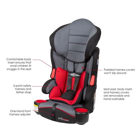 booster car seat weight baby trend hybrid booster 3 in 1 car seat ozone