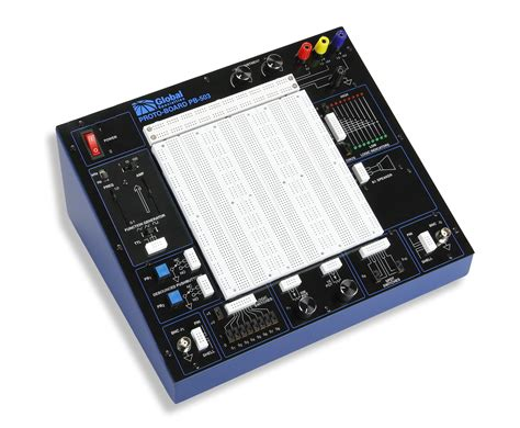 breadboard circuit design trainer electronic trainers