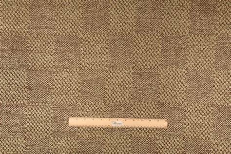 chocolate upholstery fabric 4 8 yards beacon hill checker block chenille upholstery