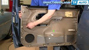 1994 Chevy Silverado Interior Parts How To Install Replace Door Panel Chevy Gmc Pickup Truck