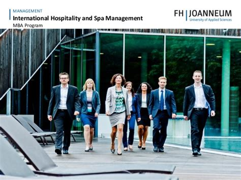 Mba In International Hospitality Management by International Hospitality And Spa Management Mba
