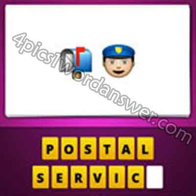 film disc letter mailbox emoji guess the emoji mailbox and police 4 pics 1 word game