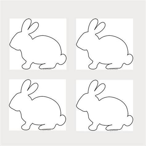 printable rabbit stencils 9 bunny template free jpg pdf document download free