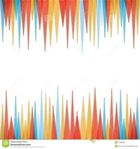 wallpaper edge strip colorful sharp edge strip background stock vector