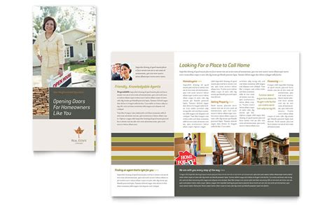 brochure template word publisher templates