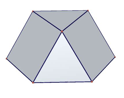 Triangular Cupola dynamic geometry class5