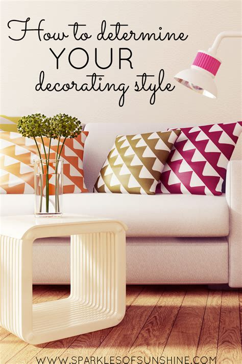 how to determine your decorating style sparkles of