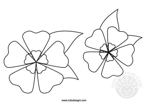 fiore di pesco disegno addobbi di primavera fiori tuttodisegni