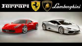 Ferraris And Lamborghinis Lamborghini Vs Nomana Bakes