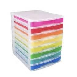Officeworks Desk Organiser by Really Useful Box 8 Drawer Desk Organiser Assorted Colours