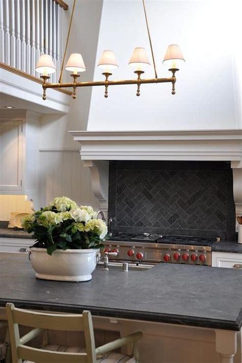 Black Herringbone Tiles Design Ideas