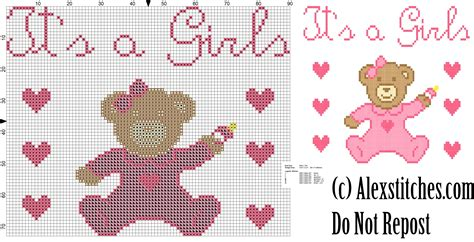 Birth Record For Free Baby Onesie It S A Birth Record Free Cross Stitch Pattern Free Cross