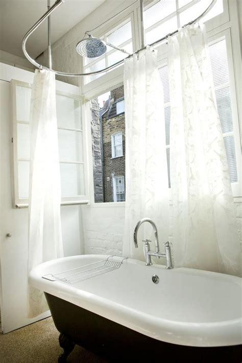 bathroom: Beautiful Bathroom Curtain for More Private