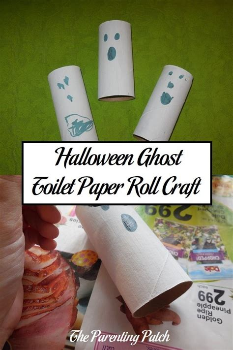 Roll Of Craft Paper - ghost toilet paper roll craft parenting patch