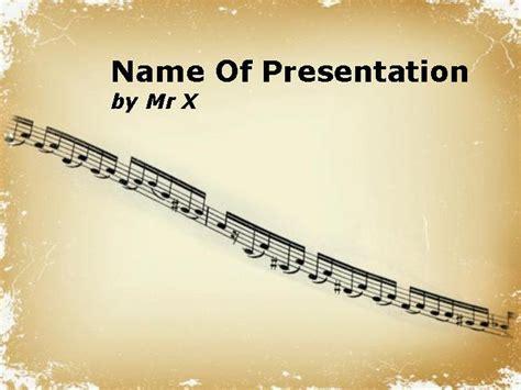 Powerpoint Design Vorlagen Musik Musik Partition Powerpoint Vorlage Power Point Vorlagen De