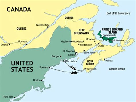 prince edward island map of canada prince edward island house pei map