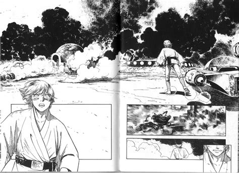 star wars manga version lazer horse