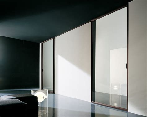 Modern Sliding Doors Interior Sliding Doors Design With Aluminum Frames And Glass Door Design