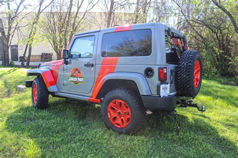 jurassic jeep blue 2016 jurassic park jeep wrap wrapfolio