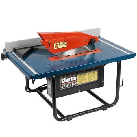 bench saw machine clarke cts800b 8 quot table saw machine mart machine mart