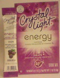 Does Light Caffeine by Caffeine King Light Grape Energy Drink Mix Review