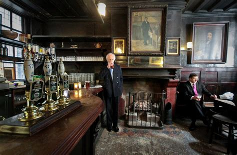 the pub ye olde cheshire cheese travels with