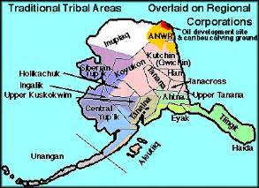 american tribes of alaska by map alaska tribes tribal territories map and info links