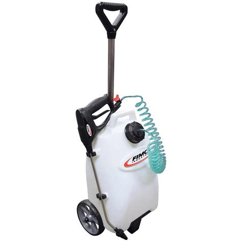 Battery Powered Garden Sprayer by Fimco 4 Gallon Spot Sprayer With Battery Powered Handgun Ebay