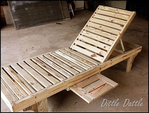 build a chaise lounge how to make a lounge chair out of pallets woodworking