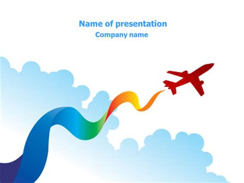 ppt templates free download airplane airplane illustration cliparts co