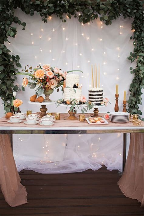 Cake Table Decoration Ideas by 25 Best Ideas About Cake Table Decorations On