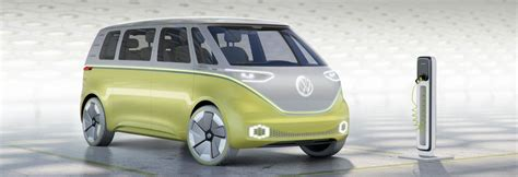 volkswagen concept van volkswagen i d buzz the car of the future fleetdrive