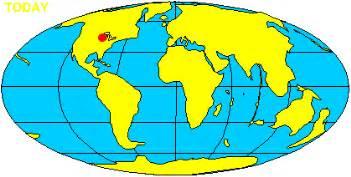 virtual silurian reef plate tectonics animation