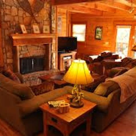 Cabin Themed Living Room by Discover And Save Creative Ideas
