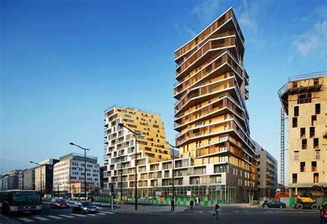 designing buildings futuristic residential building design in paris