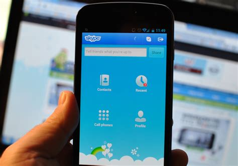 skype android app schedule calls and open microsoft office documents on skype s android app