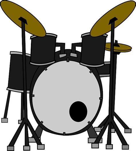 Drum Animal Concert free vector graphic drums instruments set free