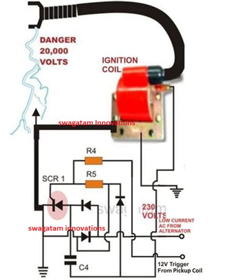 how to discharge a small capacitor how to make a capacitive discharge ignition cdi circuit for two wheelers