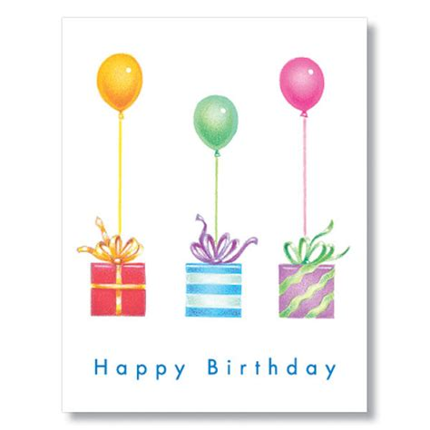 birthday card balloon template gifts balloons employee birthday cards business