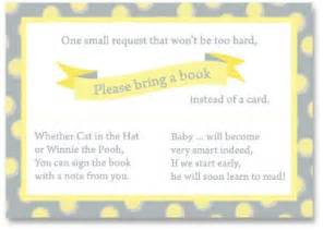 poem for baby shower book instead of card 29 best images about baby shower book instead of card on