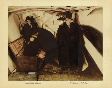 file cabinet of dr caligari 1920 lobby card jpg