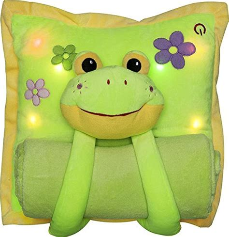 lighted pillows and blankets 11 frog pillows