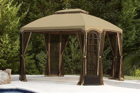 backyard gazebos canopies terrace gazebo 12ft x 10ft