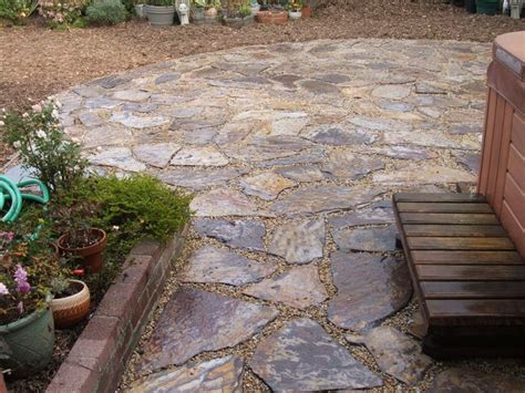 Flagstone Patio Ideas House Pinterest Backyard Flagstone Patio Ideas