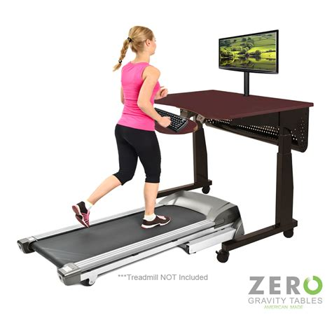 Standing Desk Workout by Treadmill Exercise Desk Workstation Table