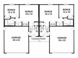 Small Duplex Plans by Buat Testing Doang Duplexes Design