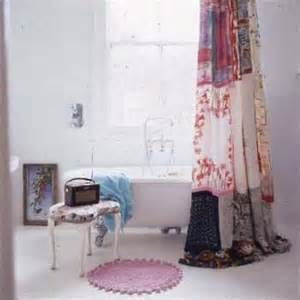 How To Hang Curtain Scarves Shabby Chic Shower Curtains Interior Fans